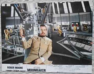Moonraker, Original French still, James Bond villain Hugo Drax, '79 (JB39)
